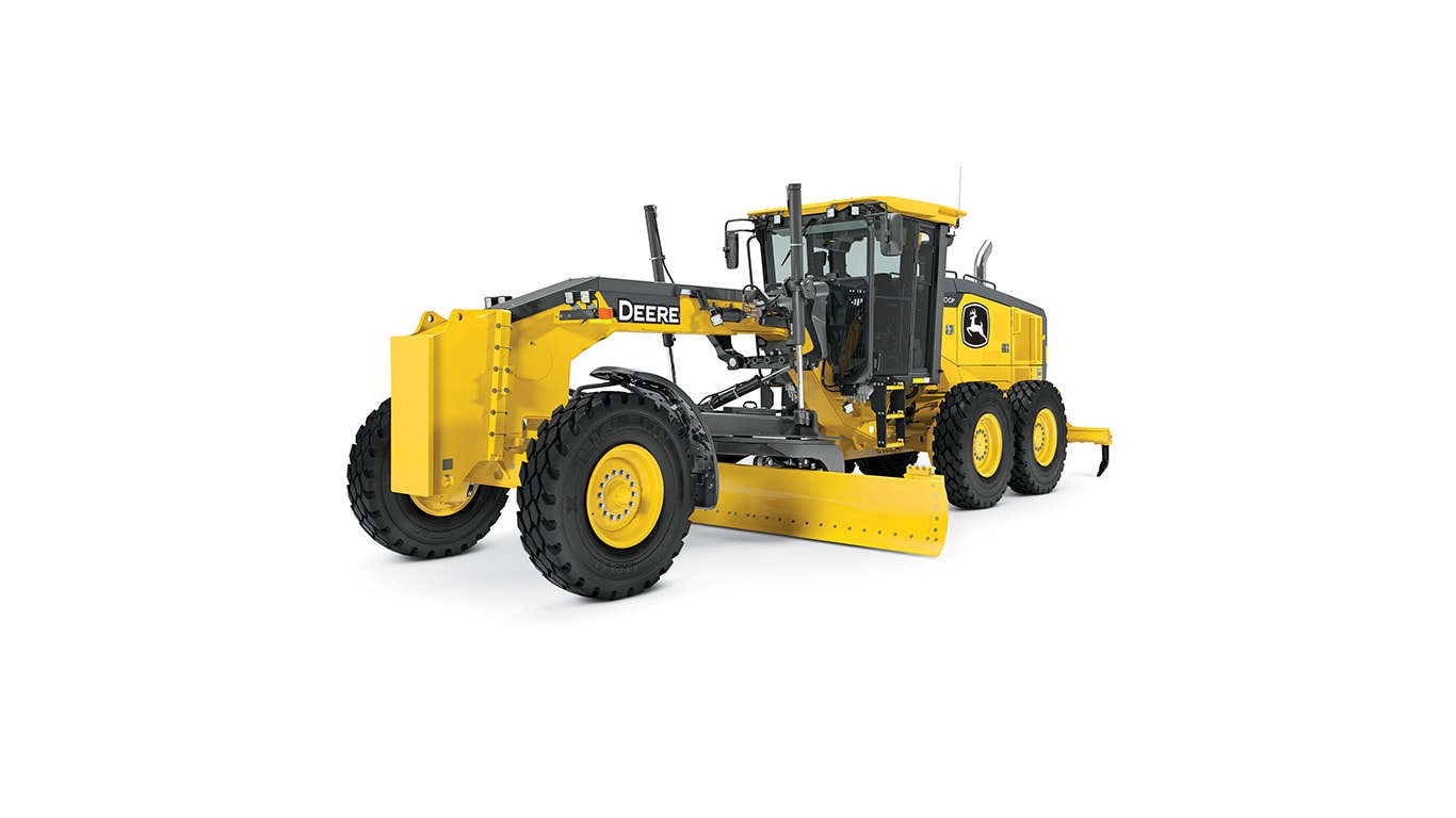 620GP motor grader on white background