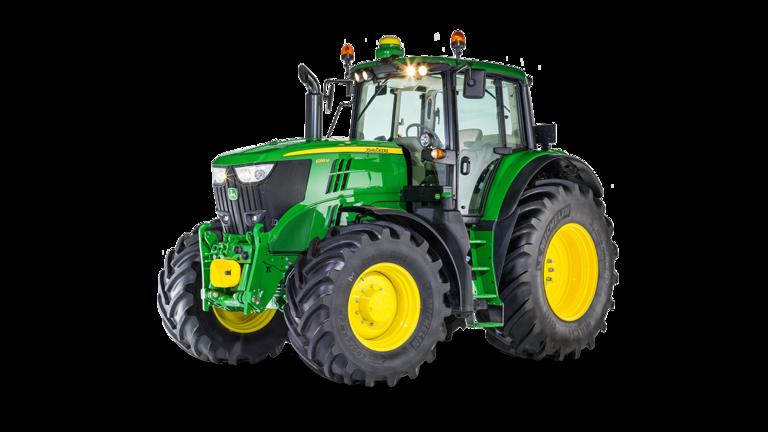 Imagen de estudio Tractor 6195M.