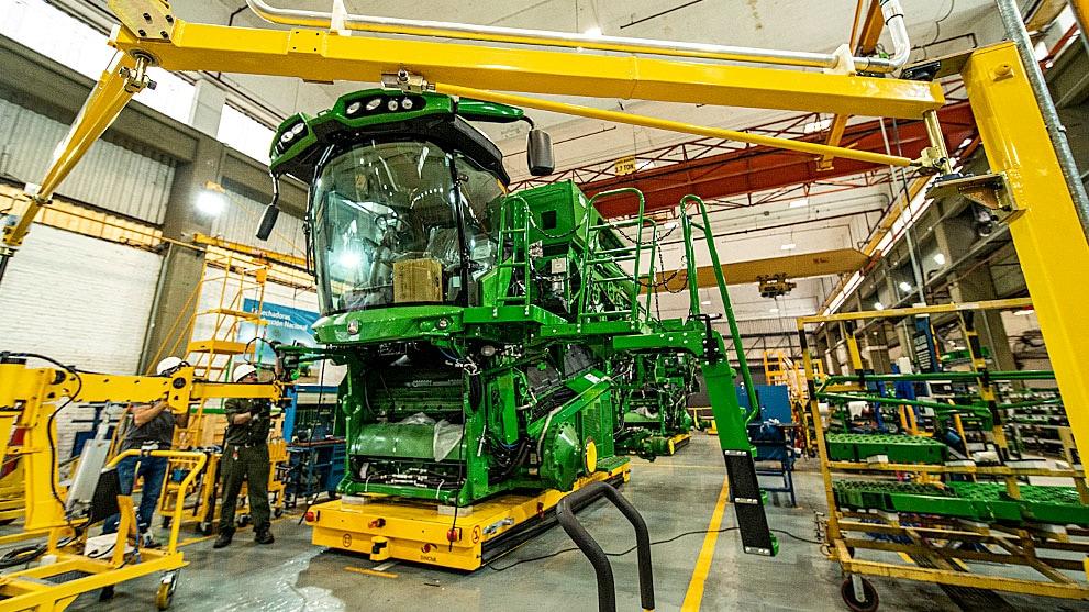 Fábrica de cosechadoras de John Deere Argentina
