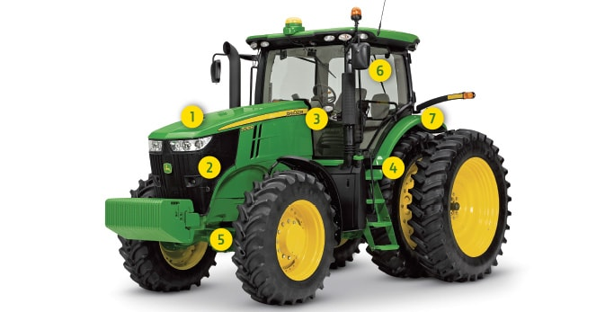 Inspecciones para tractores