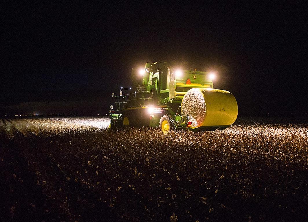 Cosechadora de Algodón CP690, la solución más avanzada en la cosecha de algodón.