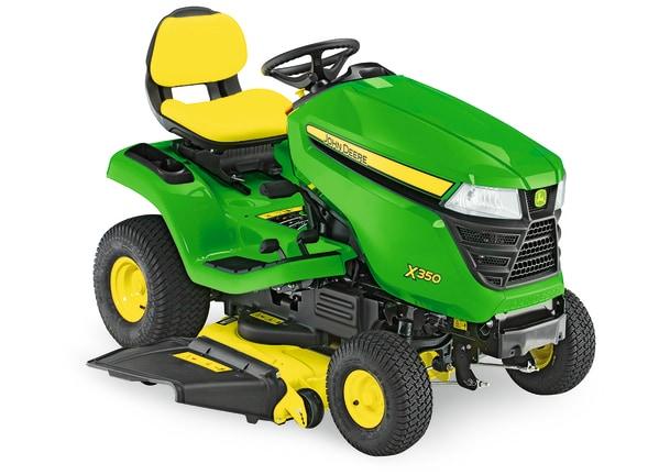 Imagen de estudio Tractor de Jardín X350.