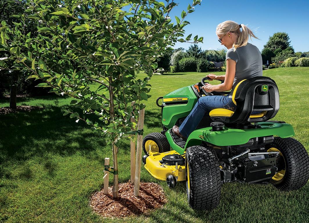Tractor de Jardín X350. La perfección llevada al extremo.