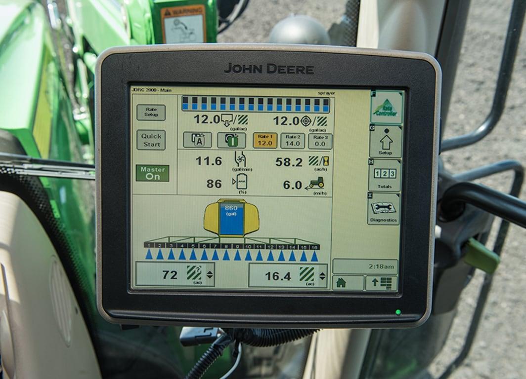 Controlador de Dosis GreenStar™ - Líquido.