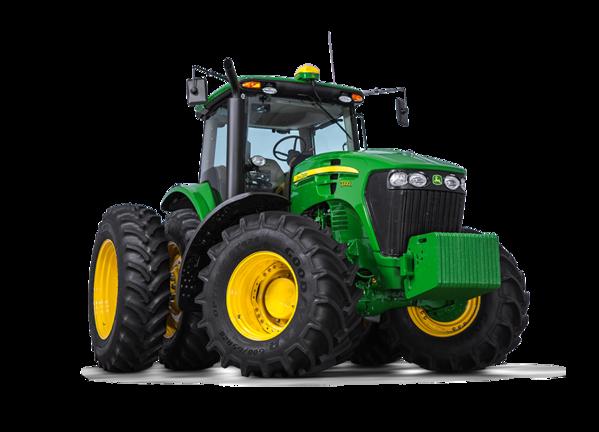 Imagen de estudio Tractor 7200J.