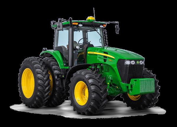 Imagen de estudio Tractor 7215J.