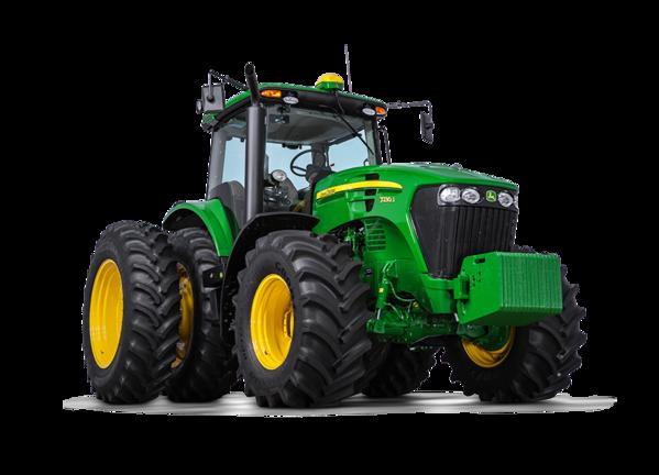 Imagen de estudio Tractor 7230J.
