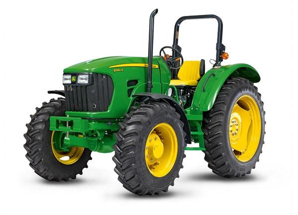 Imagen de estudio Tractor 5082E.