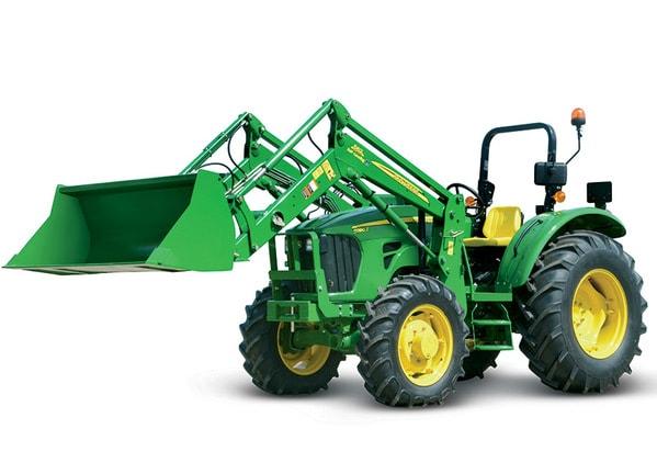 Imagen de estudio Tractor 5090E.