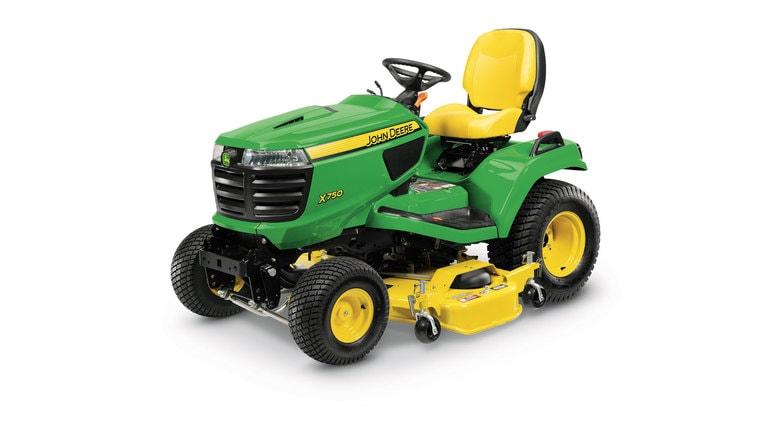 Imagen de estudio Tractor de Jardín X750.