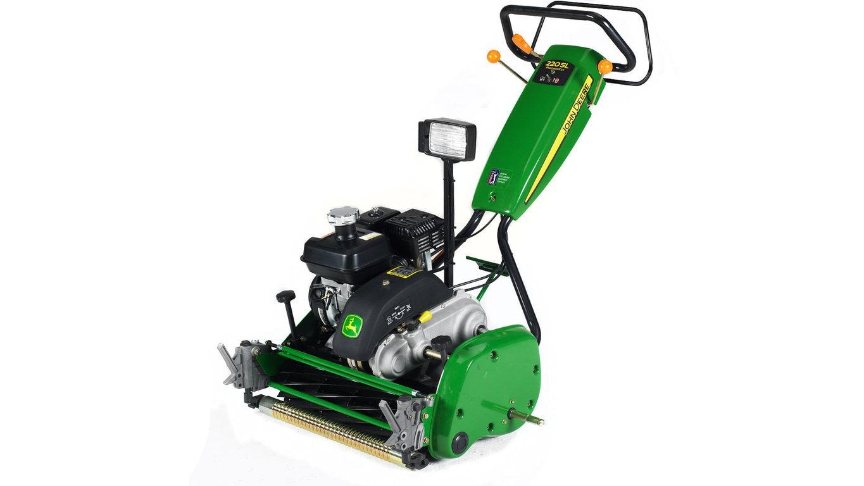 Imagen de estudio  Máquina de Greens 220 SL.