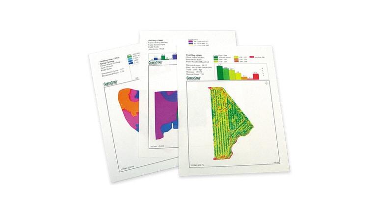 Gráfico de APEX ™ Software para manejo GIS de los datos.