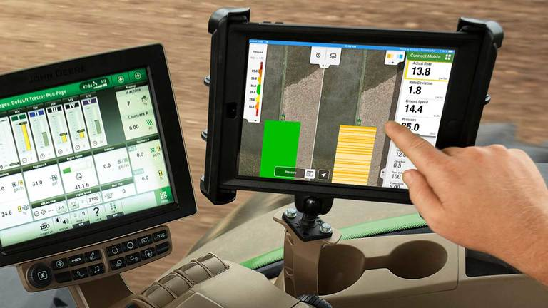 John Deere Connect Mobile.