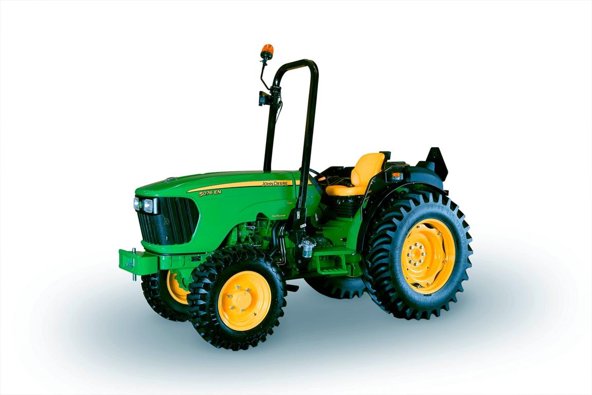 Imagen de estudio Tractor 5076EN.